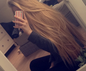 hair, blonde, and room image