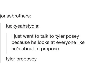 tumblr, teen wolf, and tyler posey image