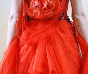 back, tangerine, and Christian Lacroix image