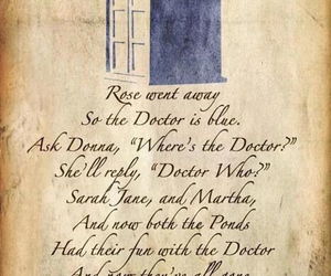doctor who, tardis, and sad image