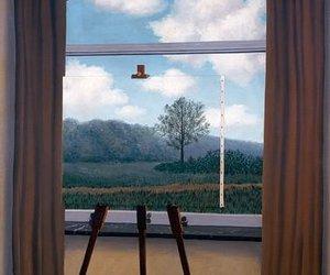 art, tree, and window image
