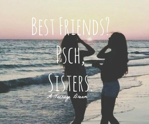 beach and sisters image