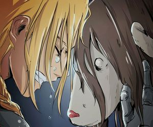 fullmetal alchemist, edward elric, and anime image