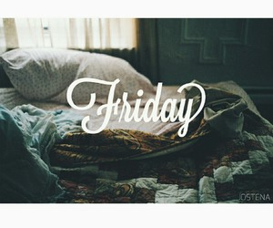 bed, enjoy, and friday image