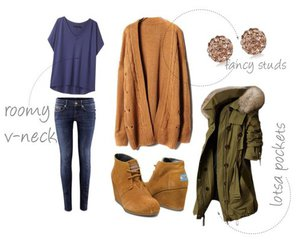 blue, casual, and day image