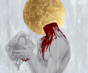 art, french mythology, and catholicism image