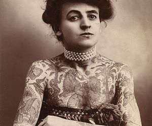 1907, old photo, and Tattoos image