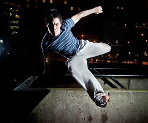 free running, le parkour, and pk image