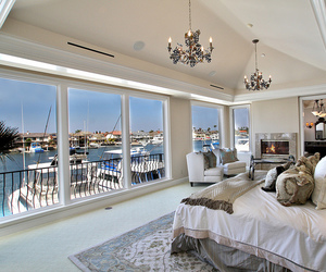 luxury, bedroom, and interior image