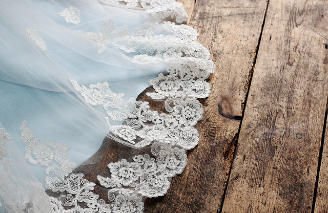 bride, lace, and pale image