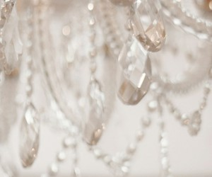 crystal and chandelier image