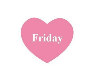friday, heart, and pink image