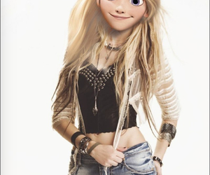 Taylor Momsen, disney, and rapunzel image