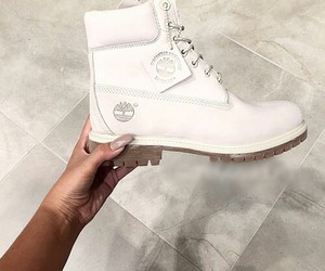 timberland, fashion, and shoes image