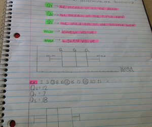 notebook, notes, and math sucks image