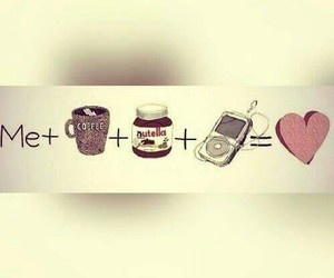 nutella, me, and love image