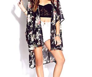 girl, kimono, and outfit image