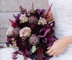arrangement, bouquet, and bridal image