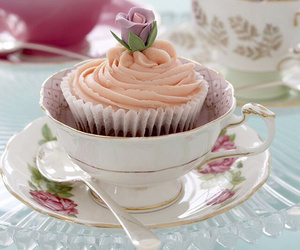 cup, cake, and cupcakes image