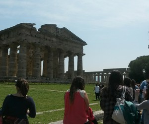 art, paestum, and theater image