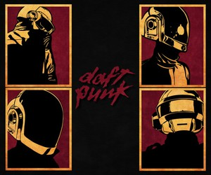 daft punk, funky, and galaxy image