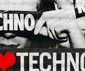 liebe, musik, and techno image