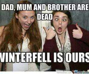 stark, game of thrones, and winterfell image
