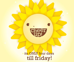 friday, sun, and cute image