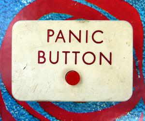 button and panic image