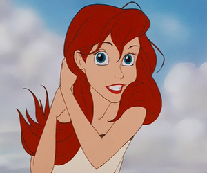 ariel, disney, and gif image