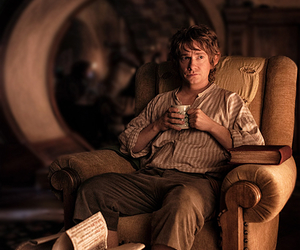 the hobbit, bilbo baggins, and Martin Freeman image