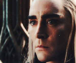 jrr tolkien, lee pace, and movie image