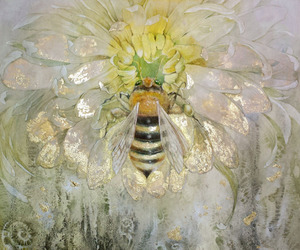 art, save the bees, and bees image