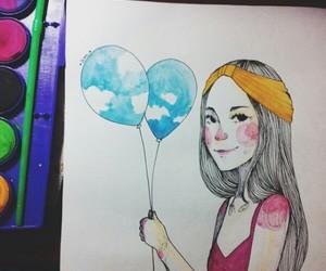 Ilustration, andrea mendez, and esandreart image