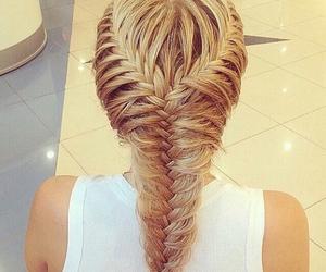 beutiful, blonde, and braid image
