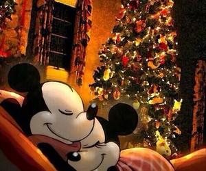 christmas, disney, and minnie image