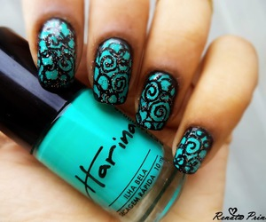 beautiful, unhas, and color image