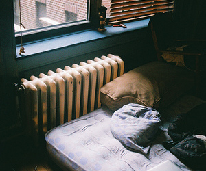 vintage, photography, and bed image