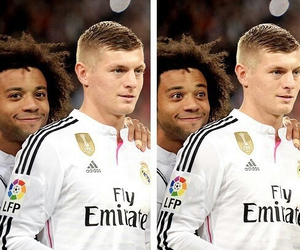 real madrid, marcelo, and toni kroos image