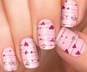 nails, girls, and make up image