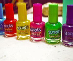 nails, nerd, and nail polish image