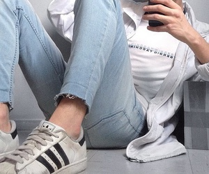 adidas, tumblr, and pale image