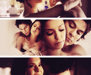 delena, love, and ian somerhalder image