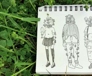 green, art, and drawing image