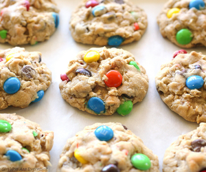 Cookies and m&m's image