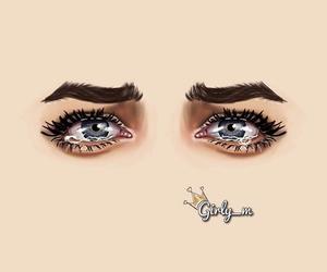 eyes, art, and girly_m image