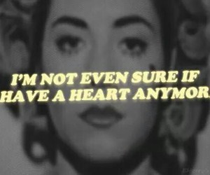 marina and the diamonds, quotes, and black and white image