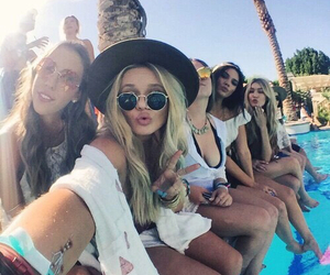 feet, coachella, and friends image