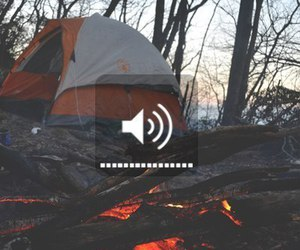 travel, camping, and forest image