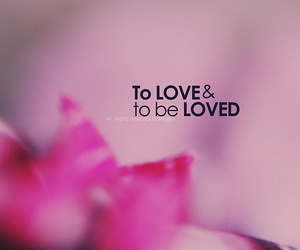hate, to love, and to be loved image